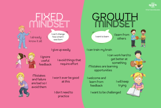 Why is growth mindset development essential in high school students?